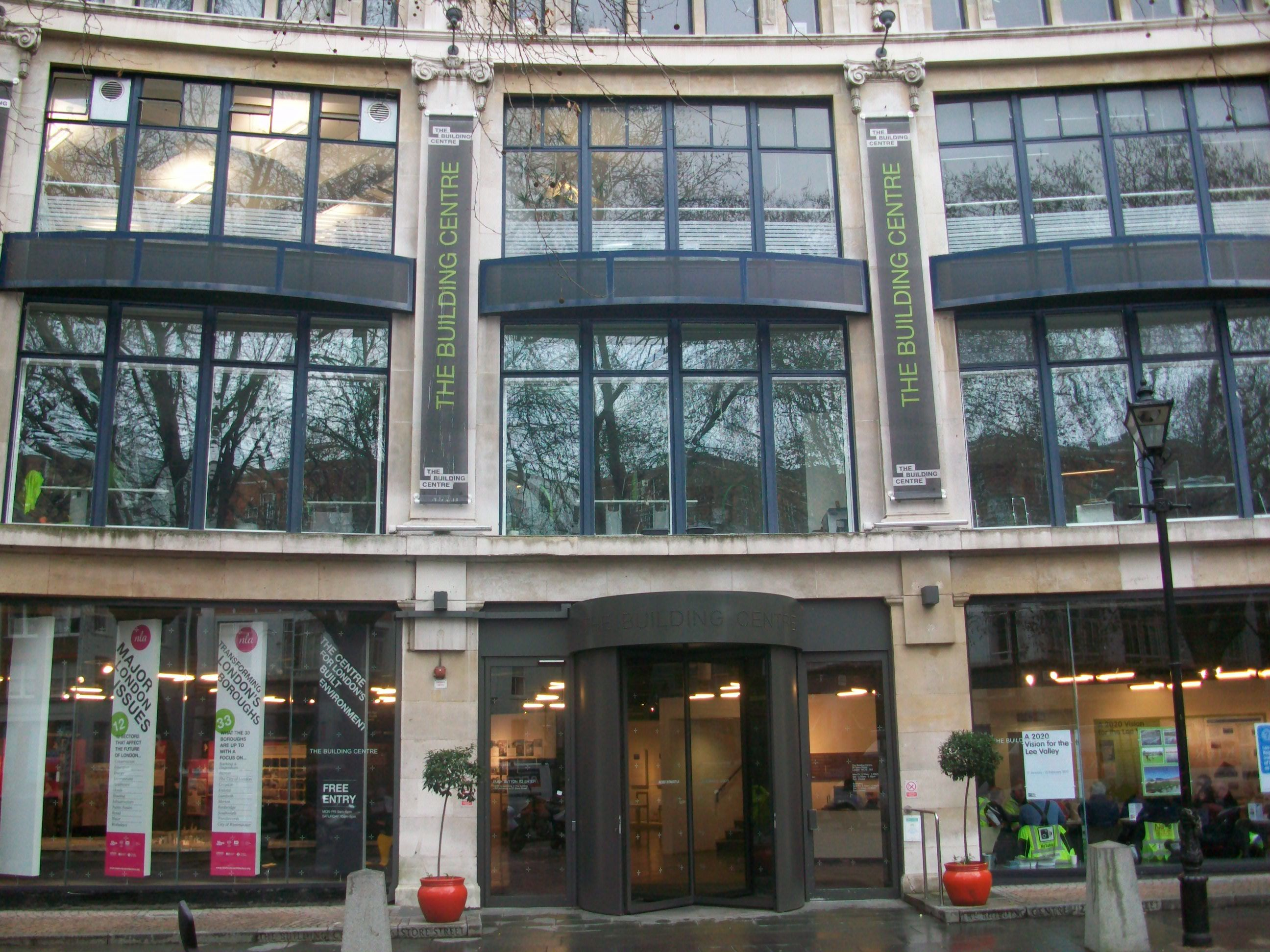 The Building Centre on Store Street will host the world's first awards for social media in the built environment.