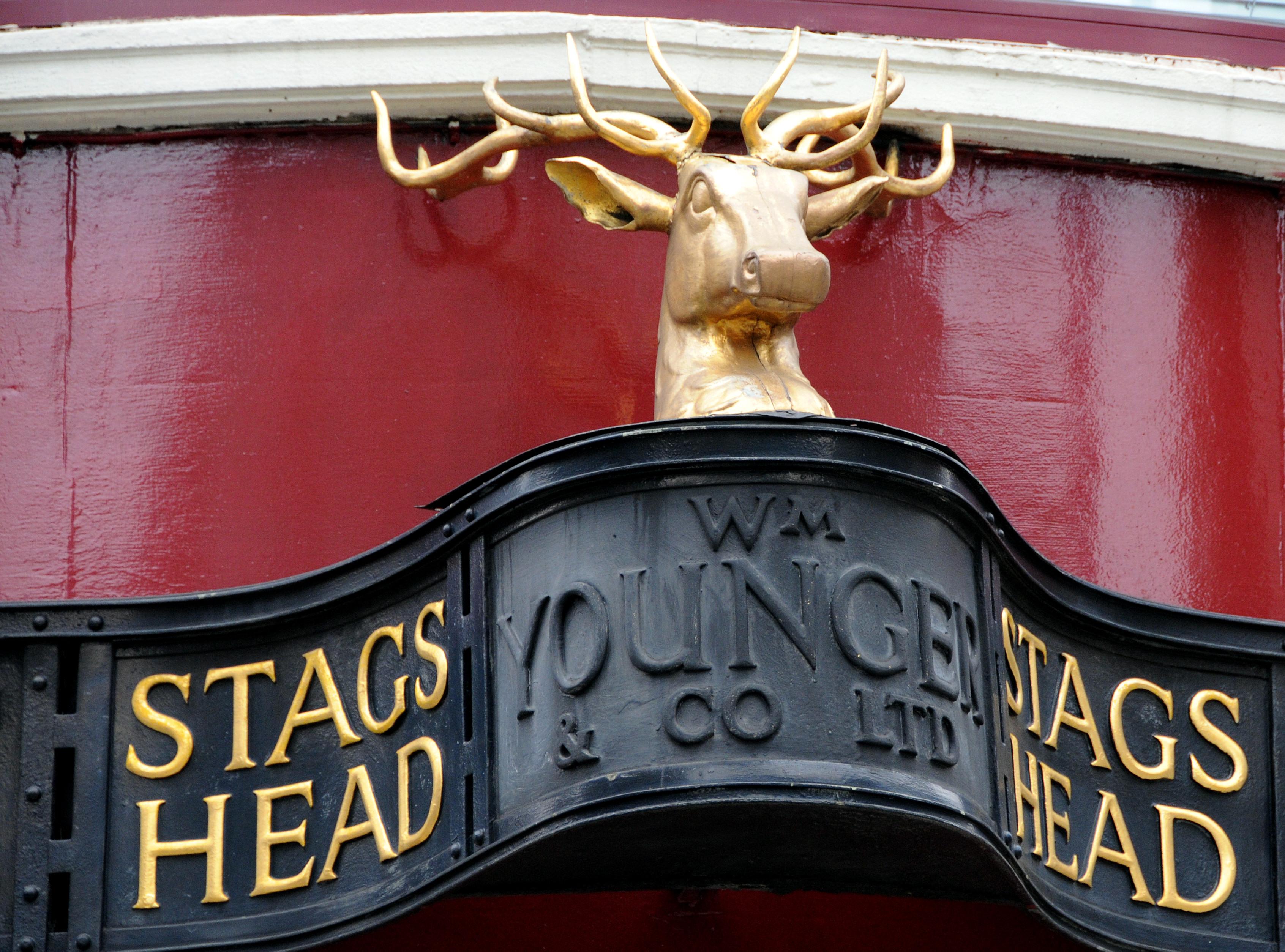 Stags Head, 102 New Cavendish Street.