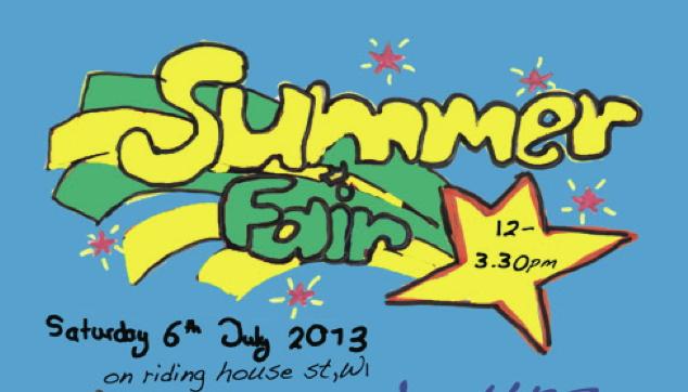 All Souls School Summer Fair 2013.