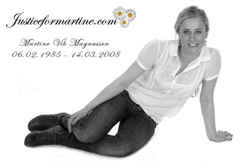 Picture of Martine Vik Magnussen.