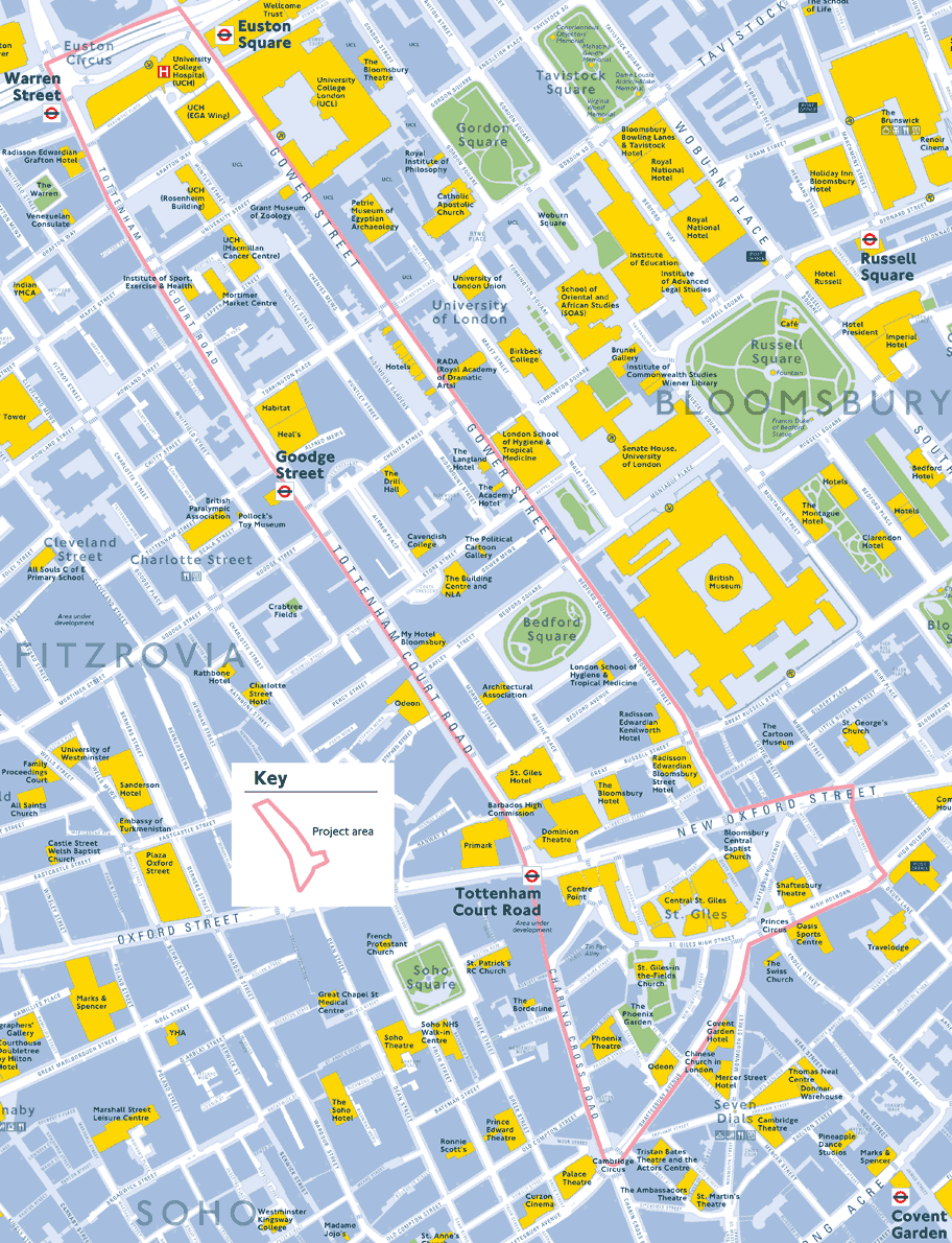Map of area.