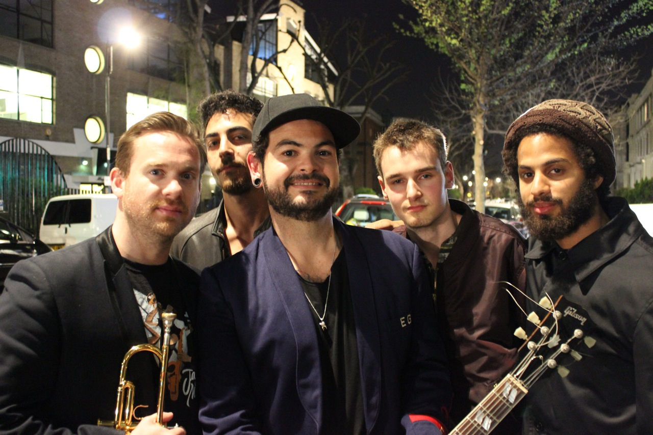 Group of musicians.
