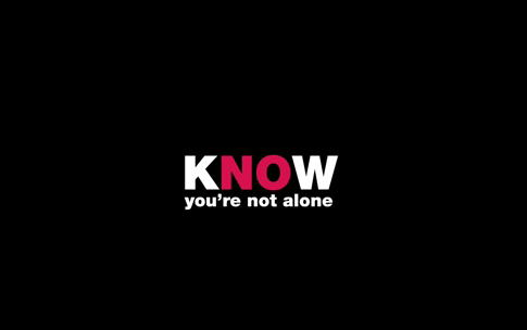 Know you're not alone.