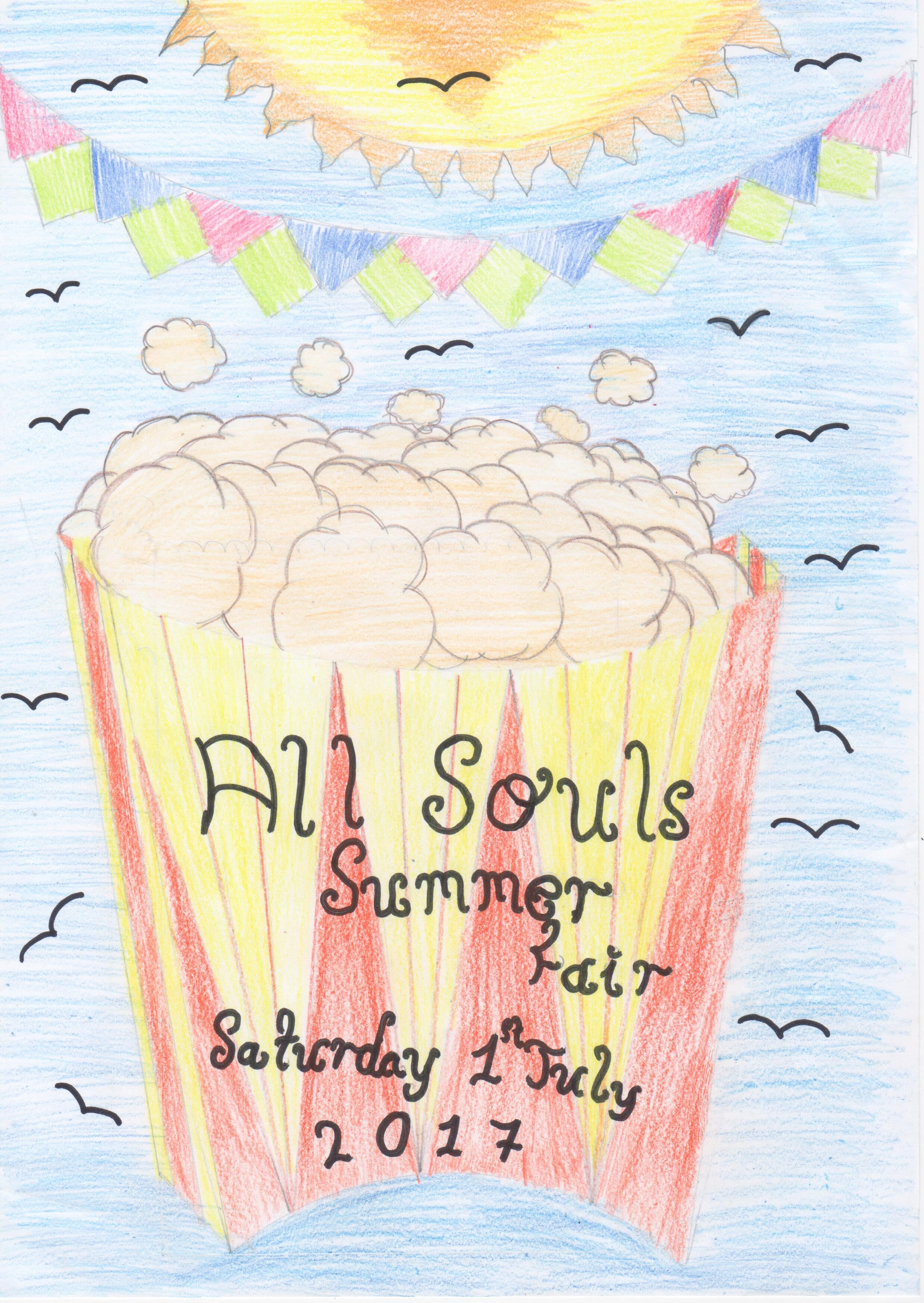Summer fair poster.