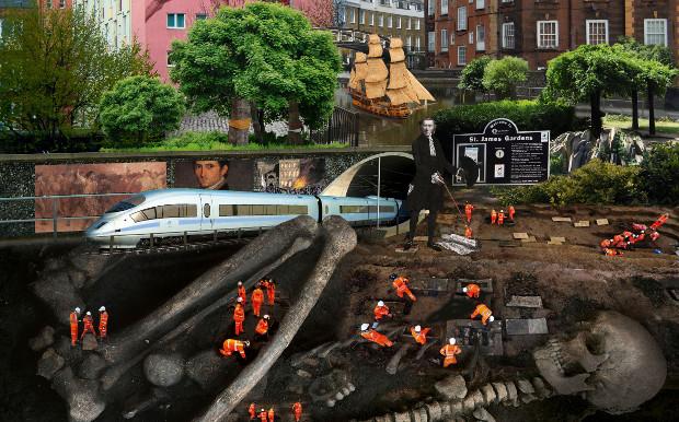 Montage of Euston.