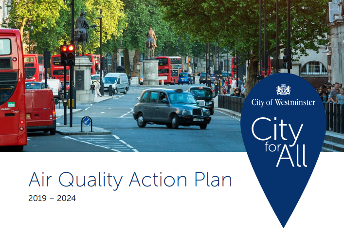 Air Quality Action Plan front cover.