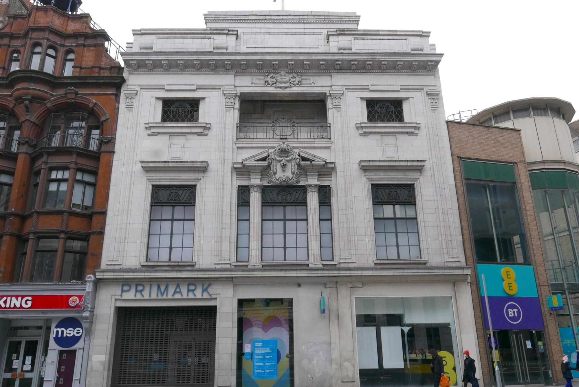 Former Lyons Corner House, Tottenham Court Road site.