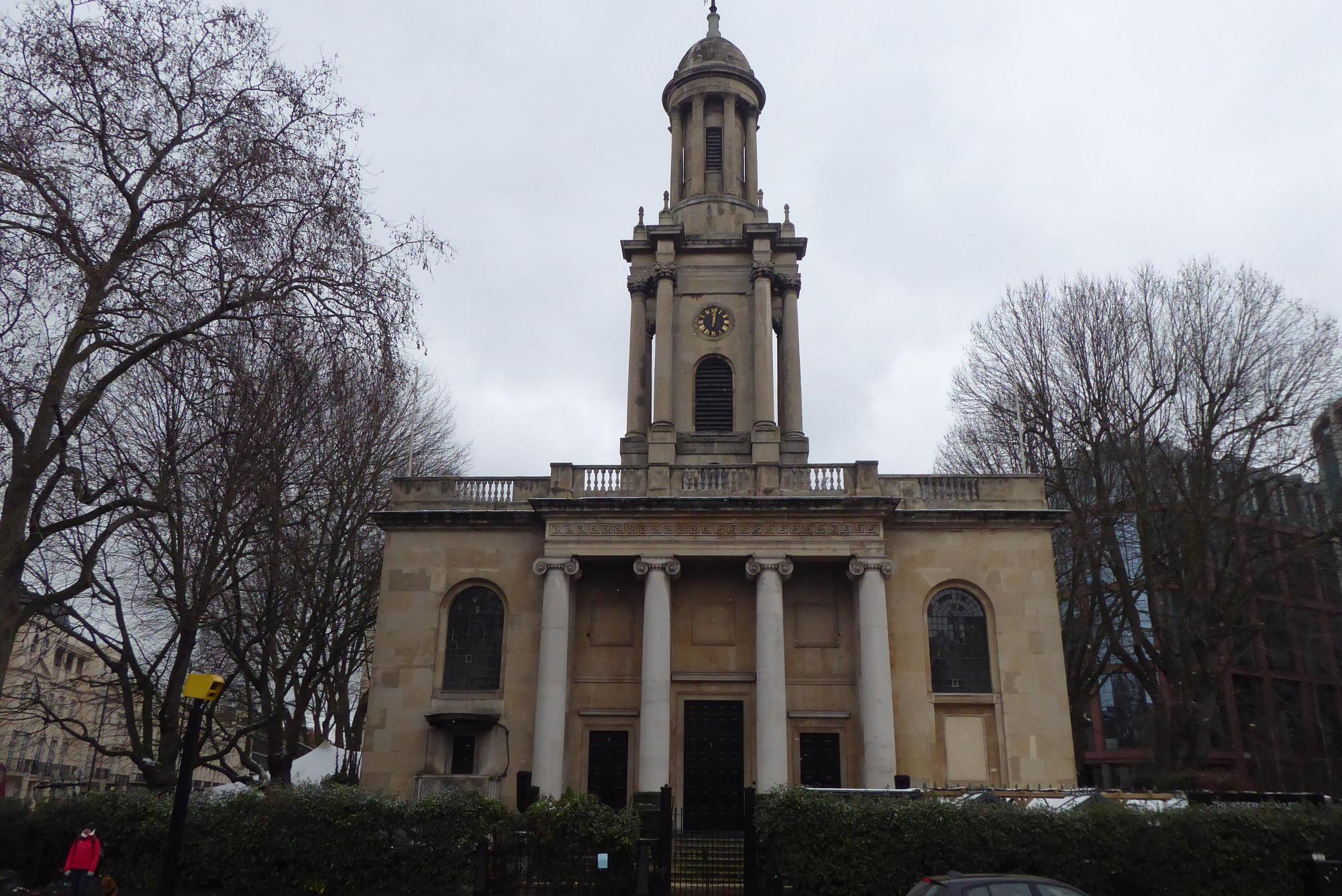 Former Holy Trinity church.