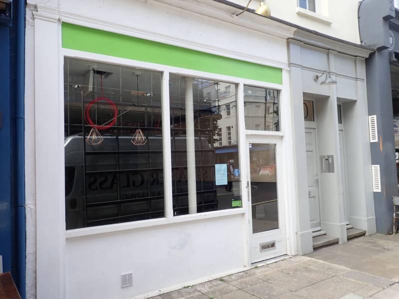 Shopfront at 30 Rathbone Place, Fitzrovia.