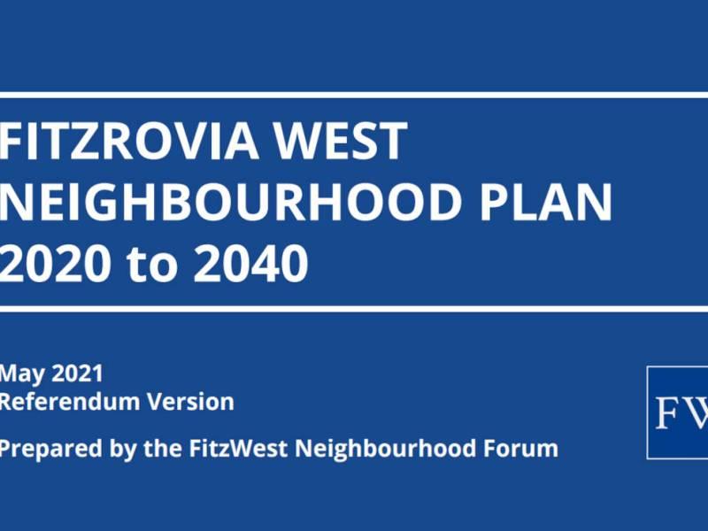 Cover of neighbourhood plan.